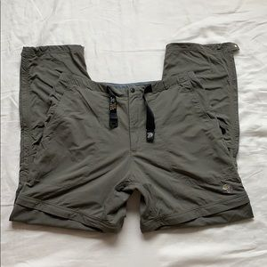 Mountain Hardwear Convertible Pants / Shorts XL